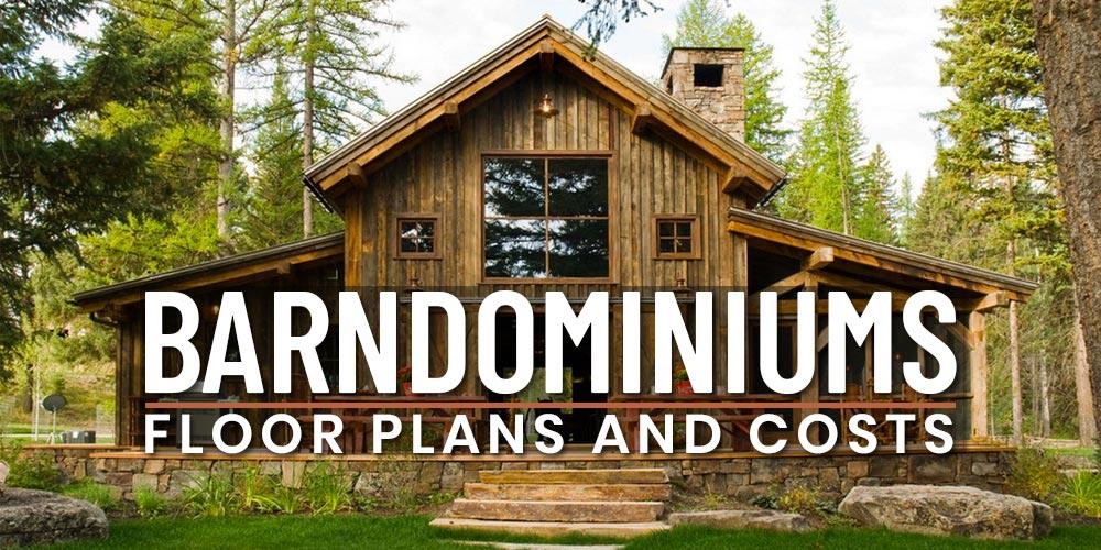 barndominium floorplans and costs